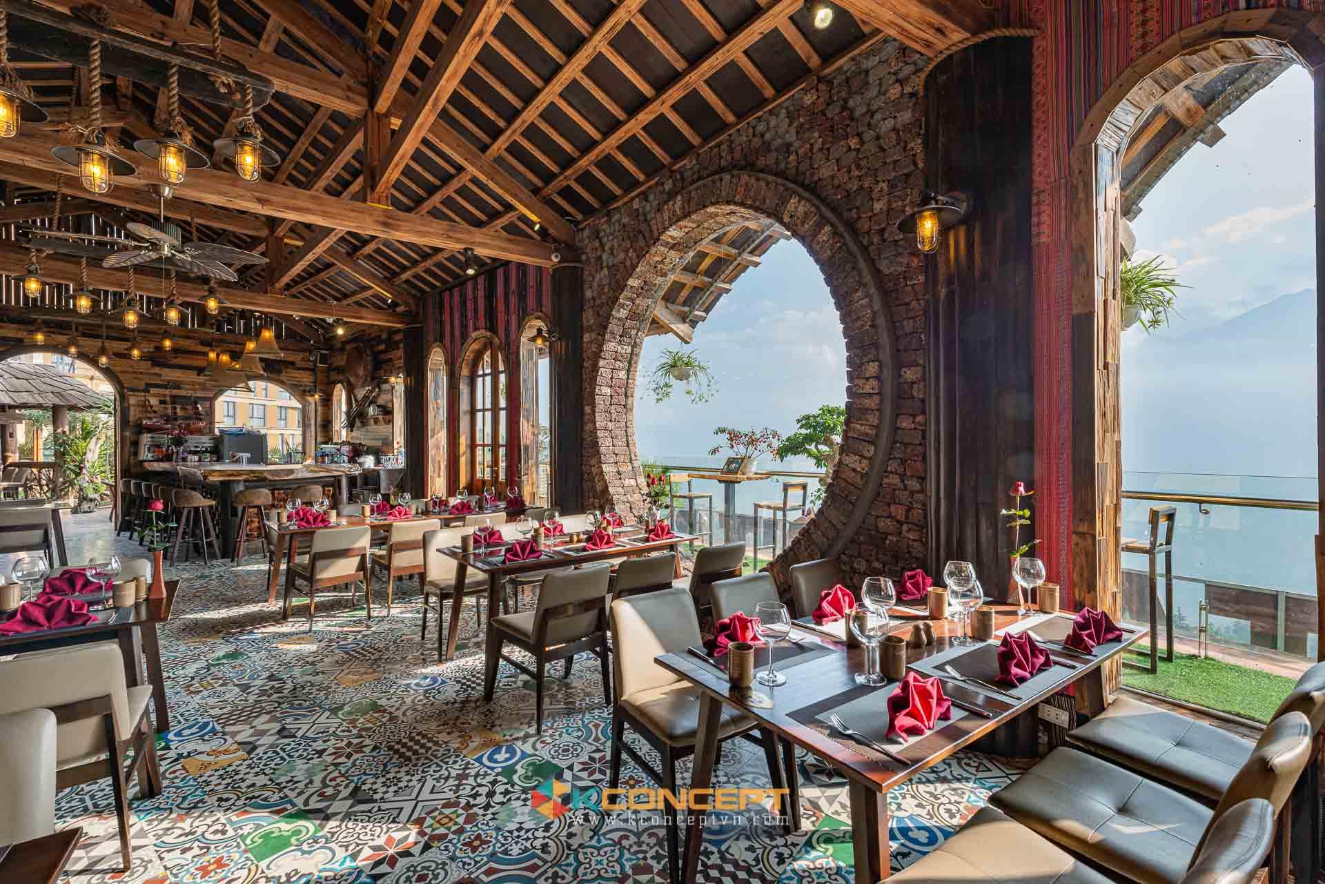 Hình ảnh về dự án chụp ảnh khách sạn nhà hàng Skyview - Khách sạn Châu Long Sapa