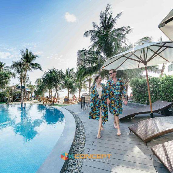 Một hình ảnh trong gói chụp hình phòng khách sạn resort taij Phú Quốc của Kconcept